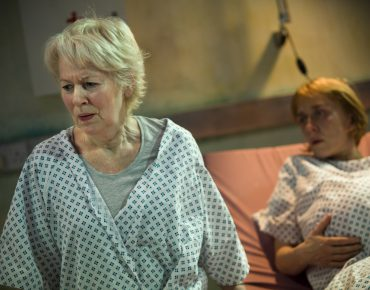 Dearbhla Molloy and Lucy Ellinson in The Trojan Women (Image � Iona Firouzabadi)