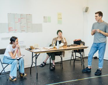 The Human voice - Gate Theatre - Rehearsal-037