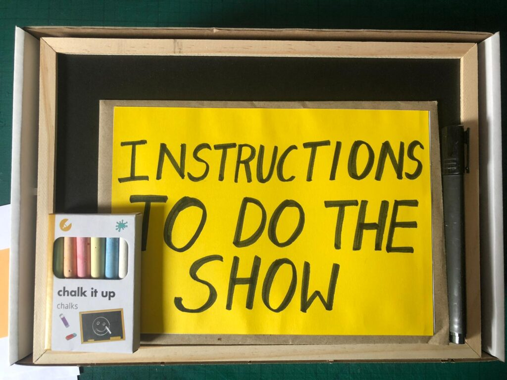 Instruction to do the show