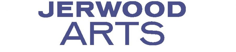 Jerwood arts website blue